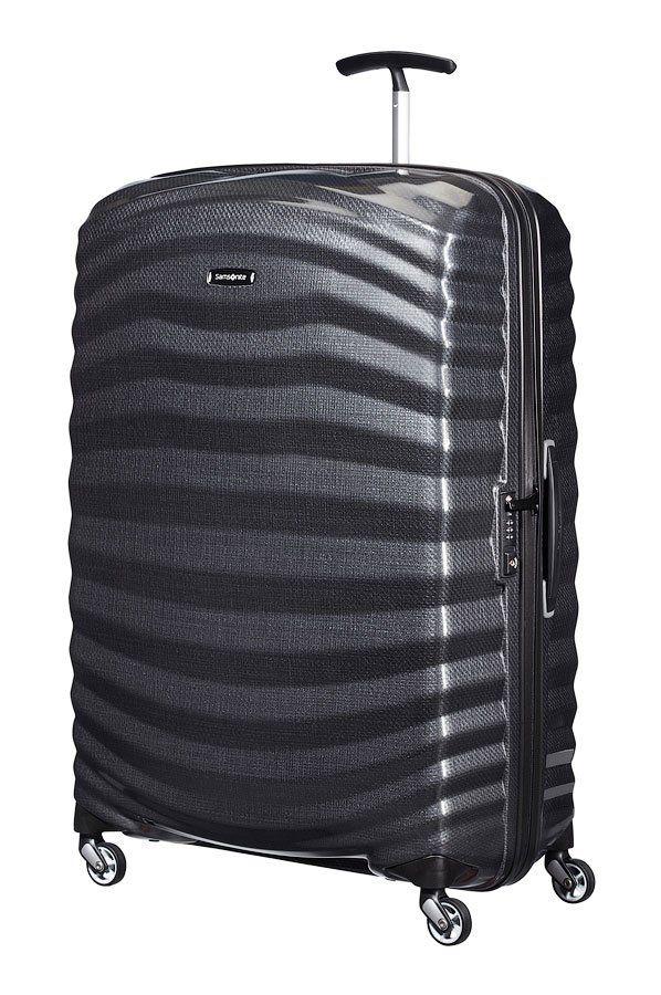 samsonite lite shock 81cm black