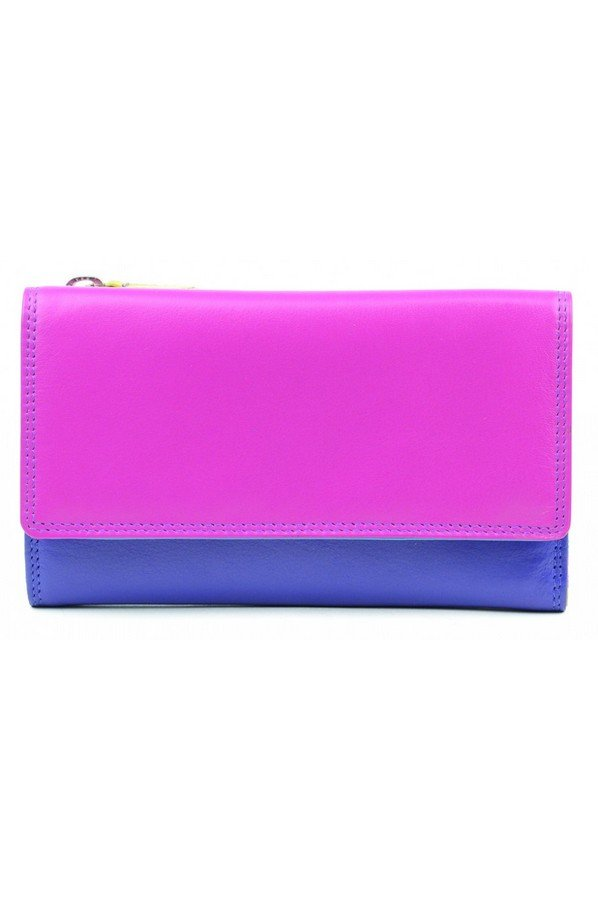 Golunski Leather Caribbean Flapover Wallet Purse 16.5cm | 7-118