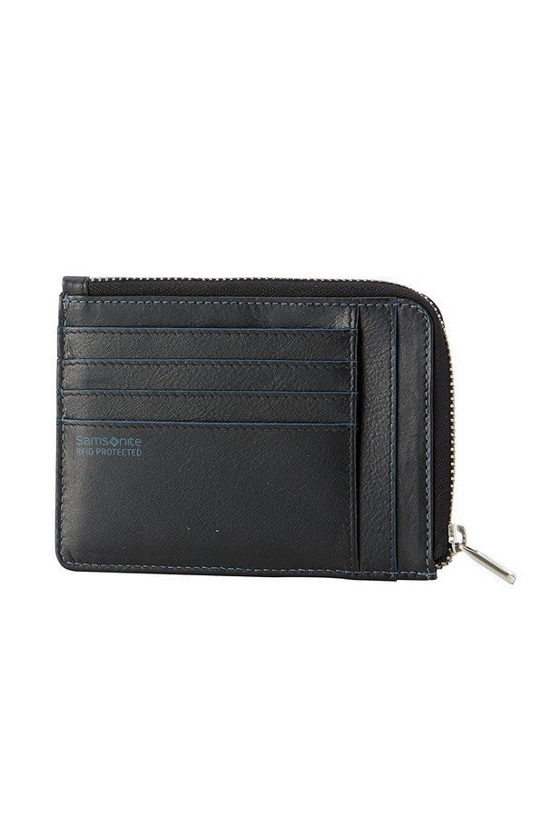 Samsonite S-Pecial SLG RFID Protected Card Holder with Zip compartment