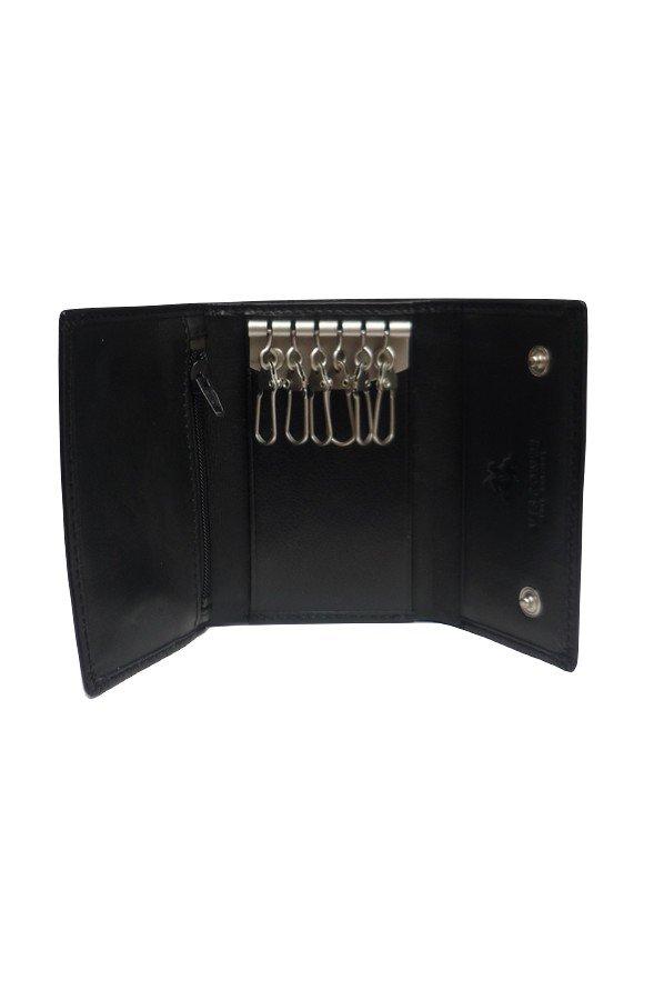 Visconti Leather 6 Hook Keycase
