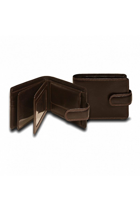 Visconti Strand Leather Wallet RFID Protected