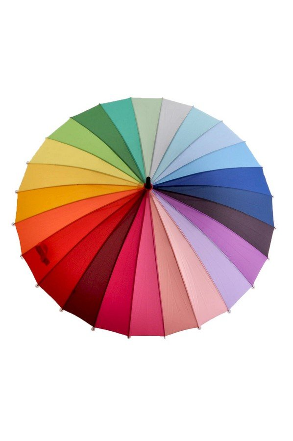 Soake Rainbow Umbrella 88cm Diameter EDSRAINR
