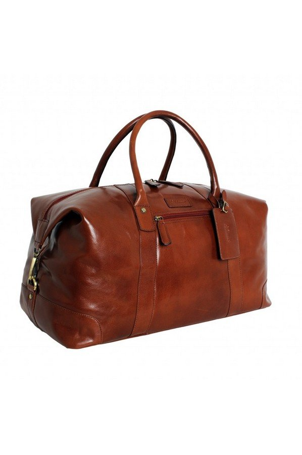 Ashwood Harold Leather Holdall  | Chelsea Collection | Bagcraft.uk