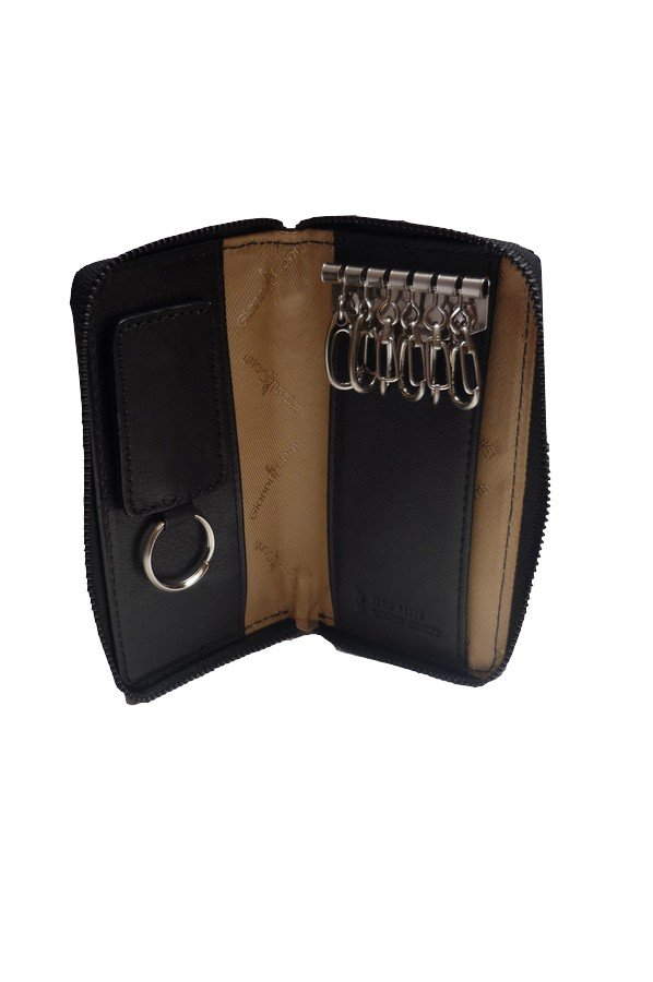 Gianni Conti Zip Around Keycase with Detachable Keyring 919725
