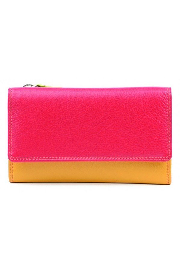 Golunski Leather Caribbean Flapover Wallet Purse 16.5cm | 7-118 spice