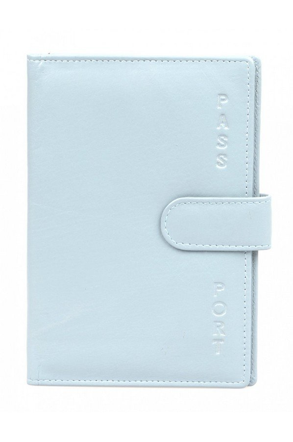 Golunski Simple Leather Passport Cover | EP8 Denim