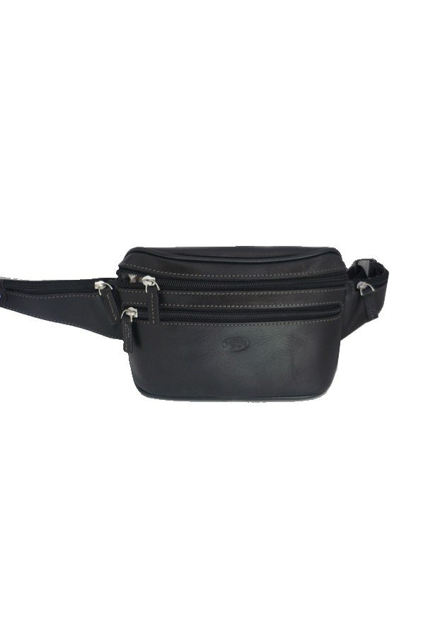 Katana Leather Waist & Hip Bag | 8200B-01