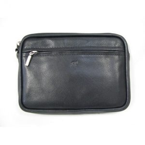 Leather Belt Pouch With Belt Loop & Wrist Strap BP1808