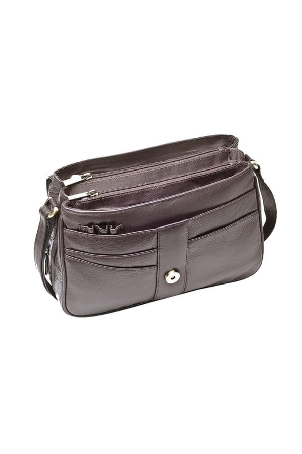 Victoria Las Leather Organiser Bag 871