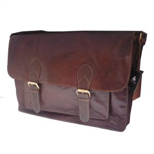 Rowallan Bronco Large Twin Buckle Flapover Messenger/Satchel | 31-7185
