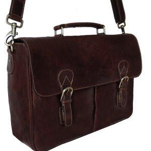 Rowallan Bronco Top Handle Briefcase | 7290 | laptop briefcase