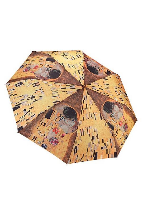 Gustav Klimt The Kiss Folding Umbrella From the Galleria Collection ARFKISS