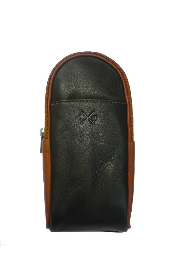 Tumble & Hide Safari Zip Top Leather Glasses Case | Product Code: 4304 46 14