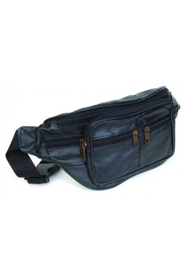 Multi Pocket Leather Waist Bag/Bumbag | BB34
