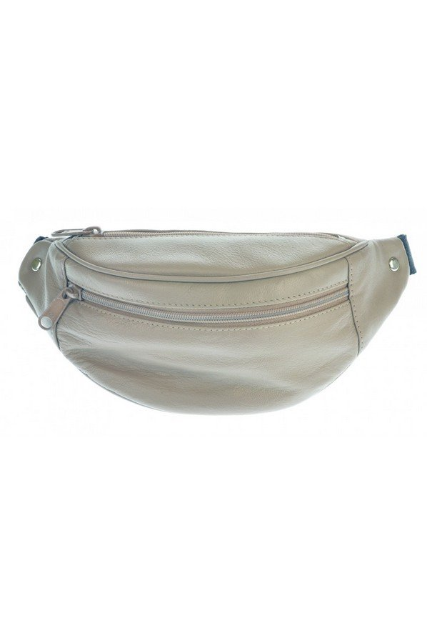 Golunski Leather Bum Bag Stone Grey | BB1 |