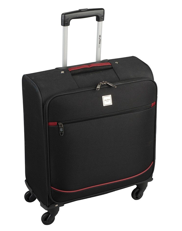 skyflite skycabin 56cm 4 wheel small case bagcraft uk. Black Bedroom Furniture Sets. Home Design Ideas