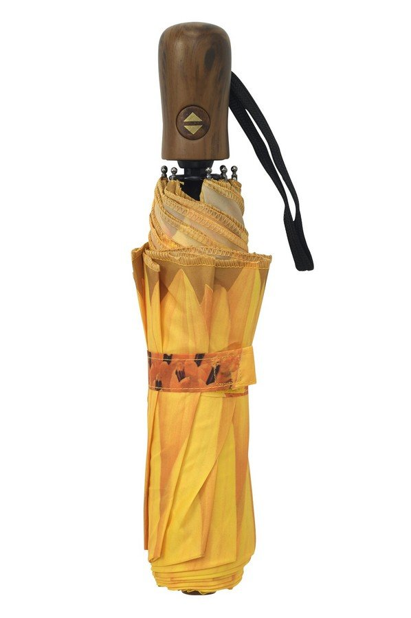 New Sunflower Bloom folding style Umbrella from the Galleria Collection