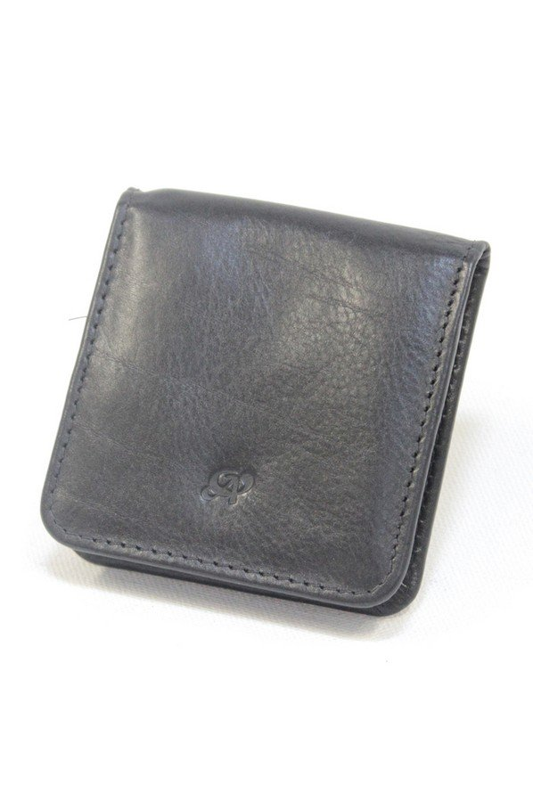 Simple Leather Square Tray Purse 1814