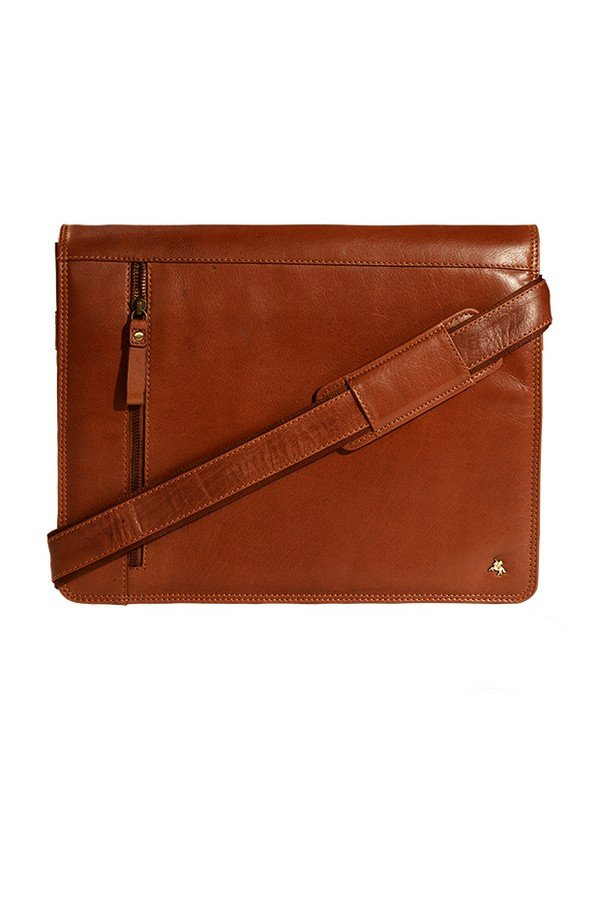 Visconti Carter Leather Messenger Bag | ml-23