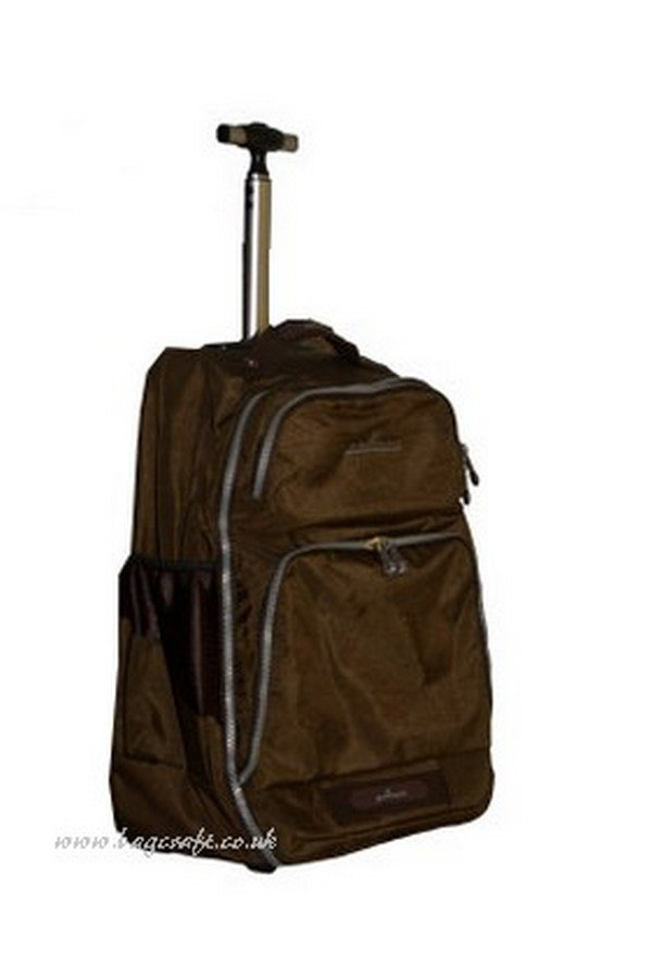 Gallops medium Brown Backpack on Wheels | 1308M