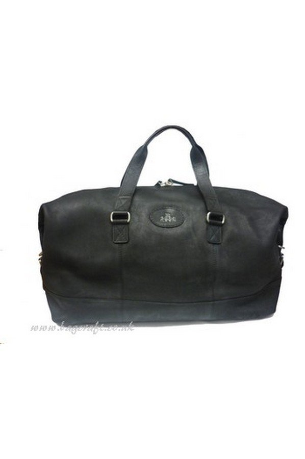 Rowallan Wayfarer Distressed Leather Holdall 58cm | 34-8627