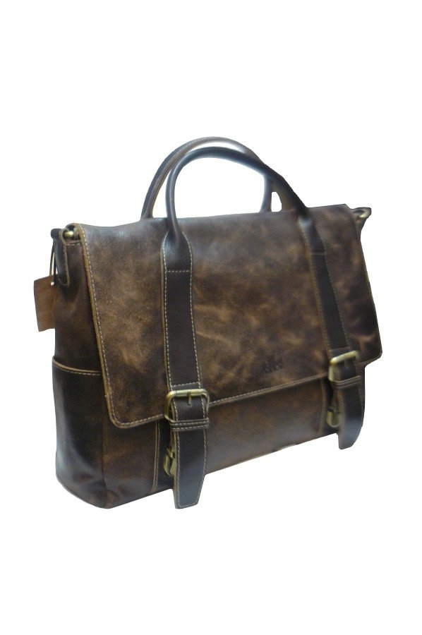 Rowallan Brushwood Twin Handle Briefcase | 9307