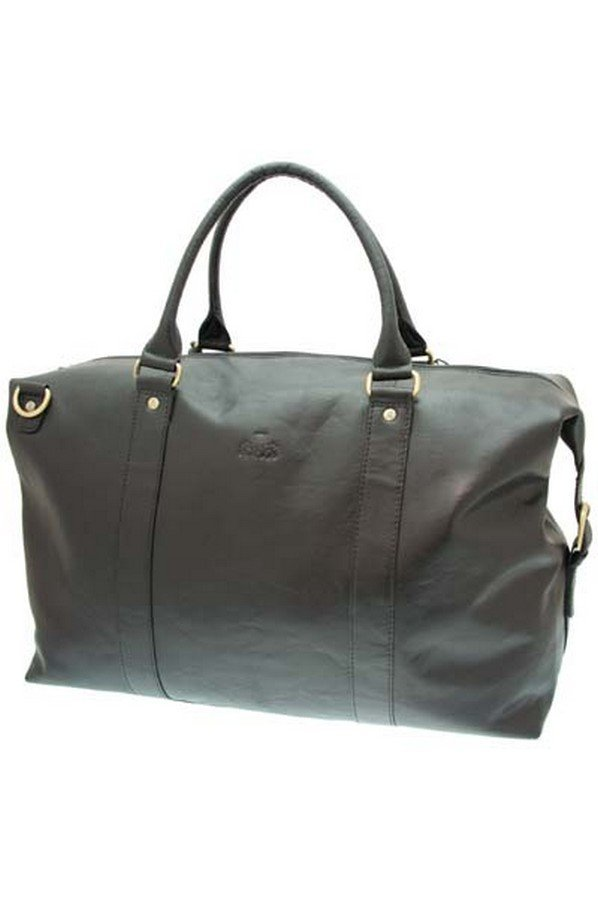 Rowallan Safari Leather 53cm Holdall | 34-9578
