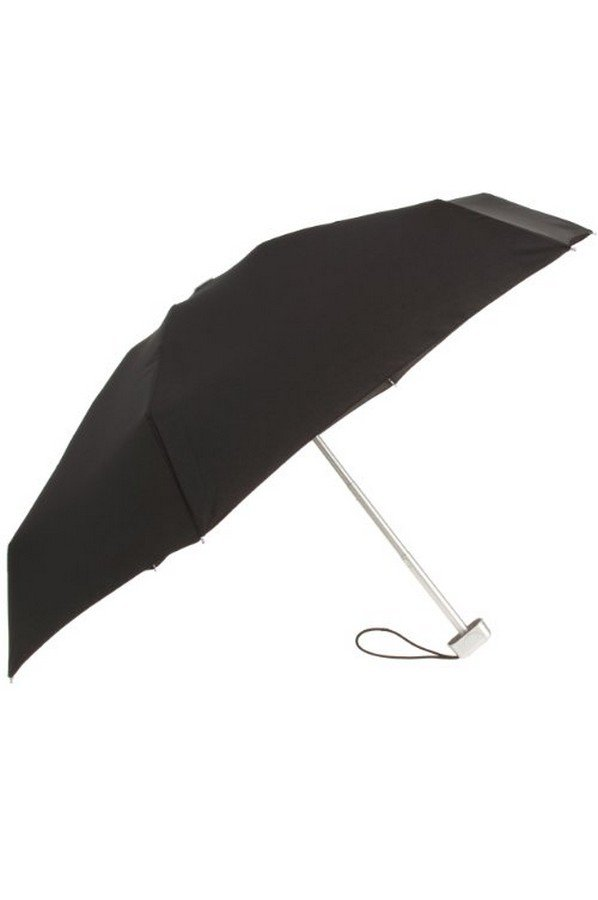 Samsonite Stick Umbrella Alu Drop 5 Sect. Manual, Black