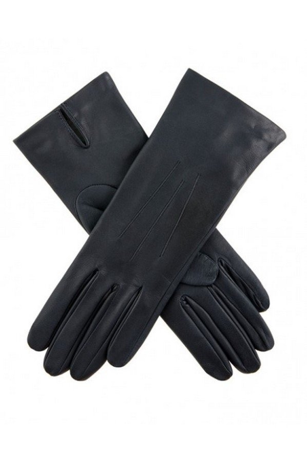 Dents Felicity Women's Silk Lined Plain Hairsheep Leather Gloves | 7-1049