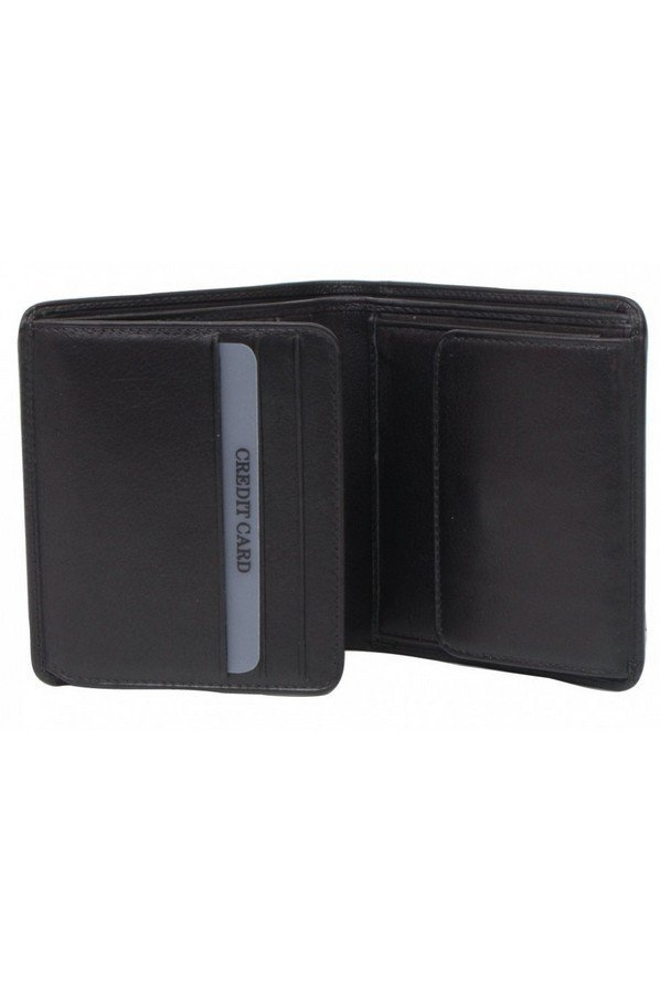 Golunski Gents Smooth Leather Wallet with Coin Pocket | bm601