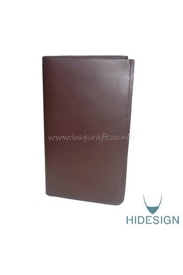 Hidesign Escada Tall Wallet in Brown
