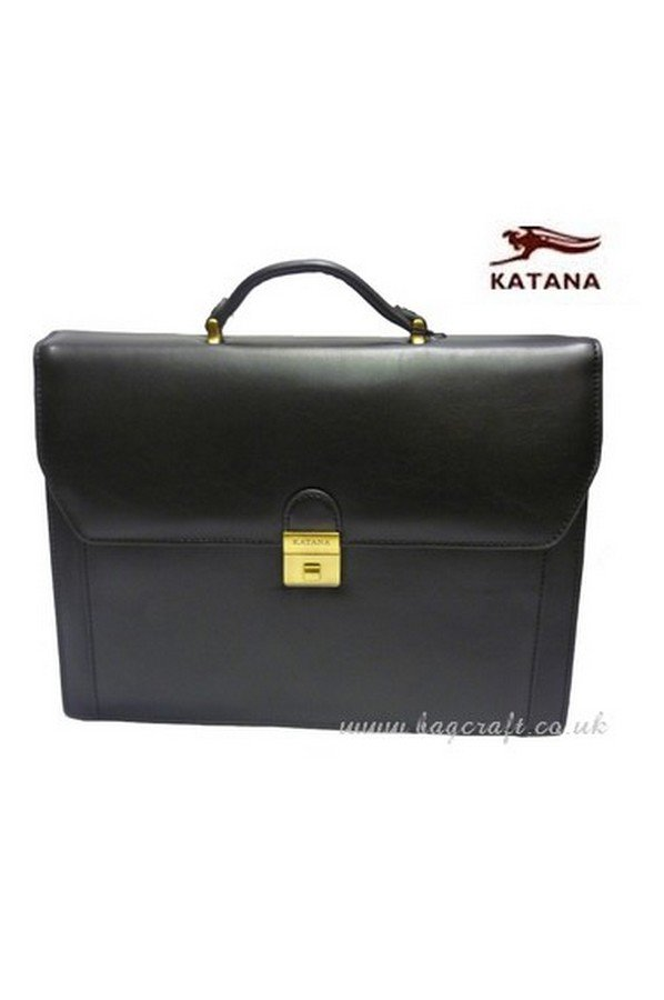Katana Gabriel Leather Briefcase | 63025