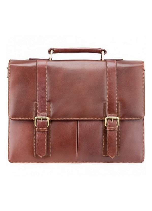 Visconti Bennett Leather Briefcase | VT-6