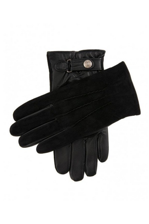 Dents Newmarket Men's Suede Back Leather Gloves | 5-9036