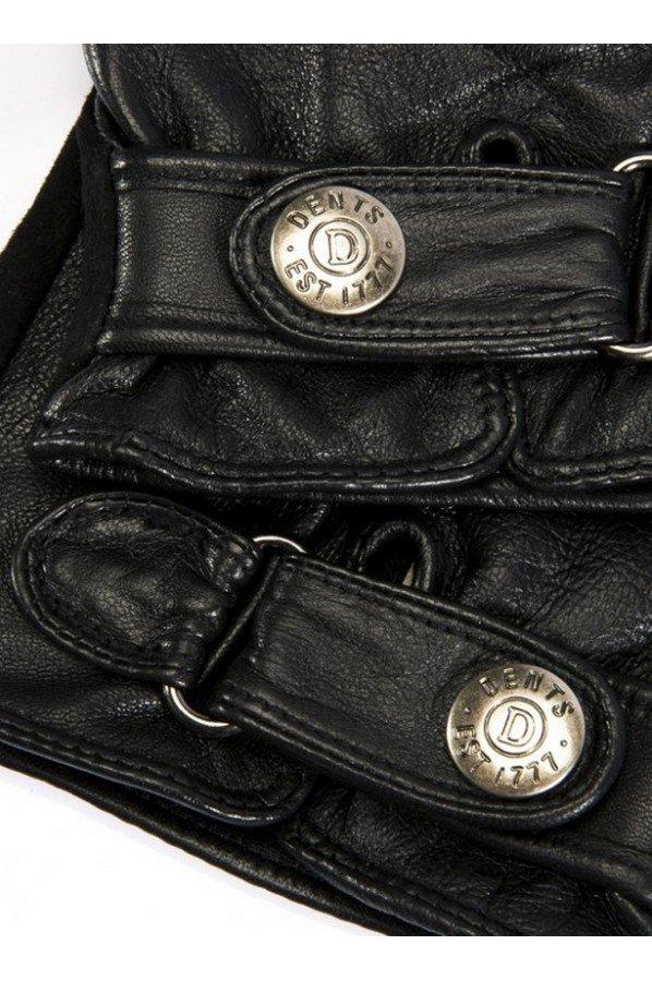Dents Newmarket Men's Suede Back Leather Gloves | 5-9036