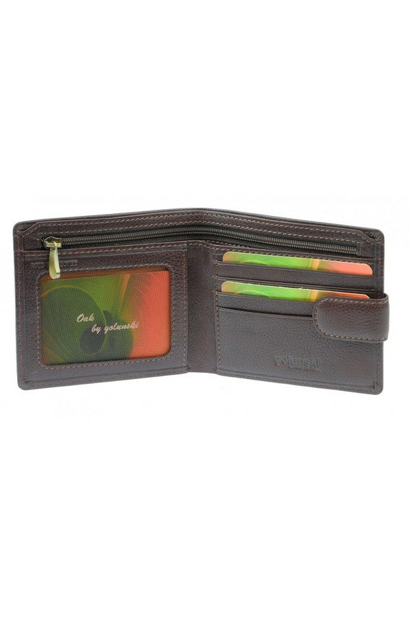 Oak by Golunski Leather Wallet with Tab Closure