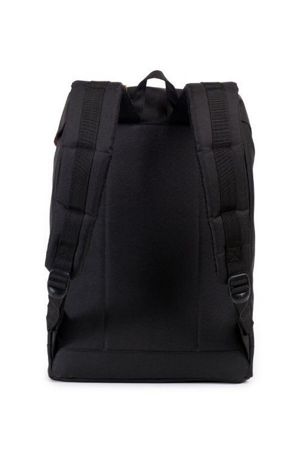Herschel Supply Co. Retreat Backpack in Black/Tan Synthetic | 10066-00001-os