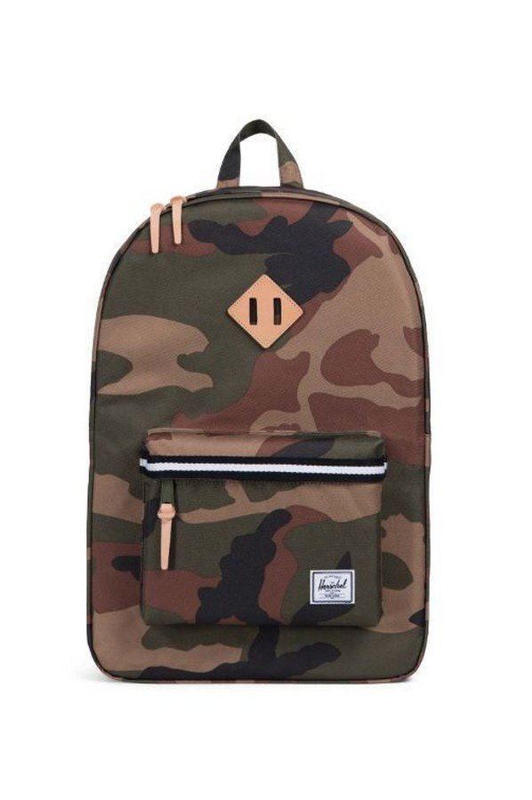 Herschel Supply Co. Heritage Backpack in Woodland Camo Black/White