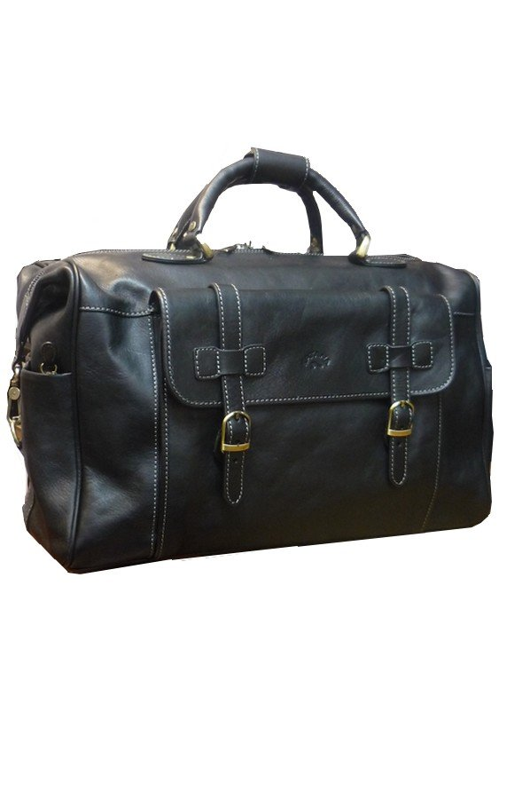 Katana Leather Holdall | Black | 33152 |