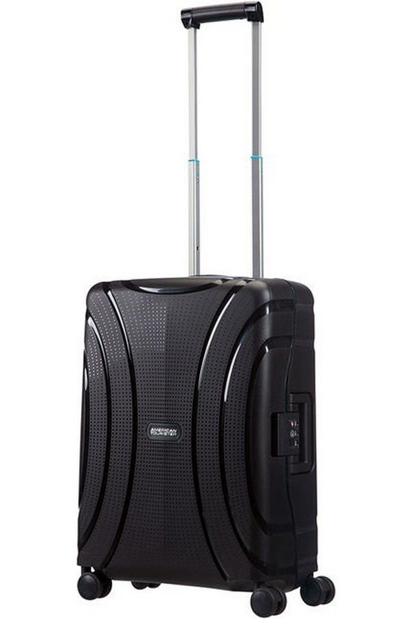 American Tourister Lock 'n' Roll Spinner (4 Wheels) 55cm Black