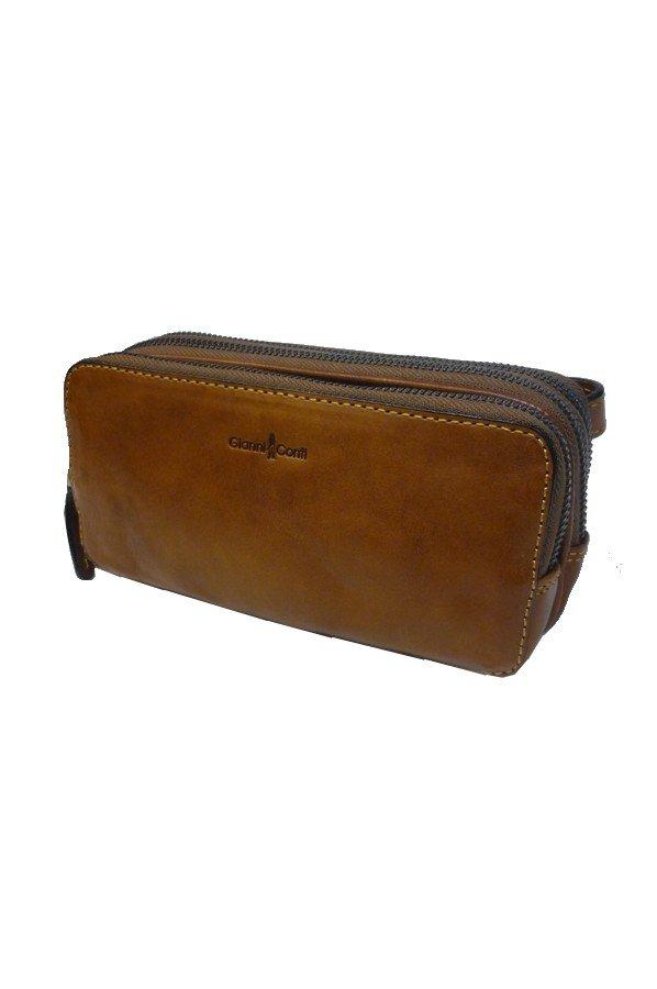 Gianni Conti Dino Wrist Bag Pouch