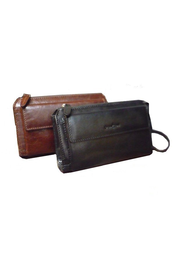 Gianni Conti Alfio Leather Wrist Bag | 9402204