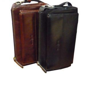 Gianni Conti Alfio Leather Wrist Bag | 9402204