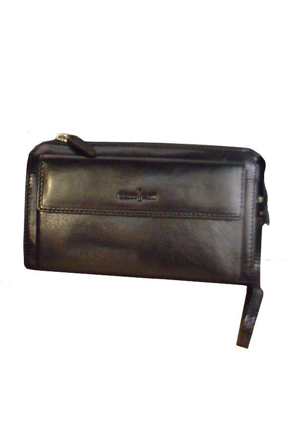 Gianni Conti Alfio Leather Wrist Bag   9402204