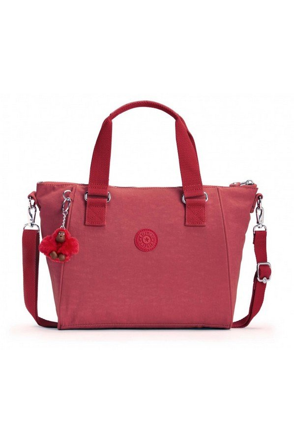 Kipling Amiel Medium Handbag | Spicy Red C