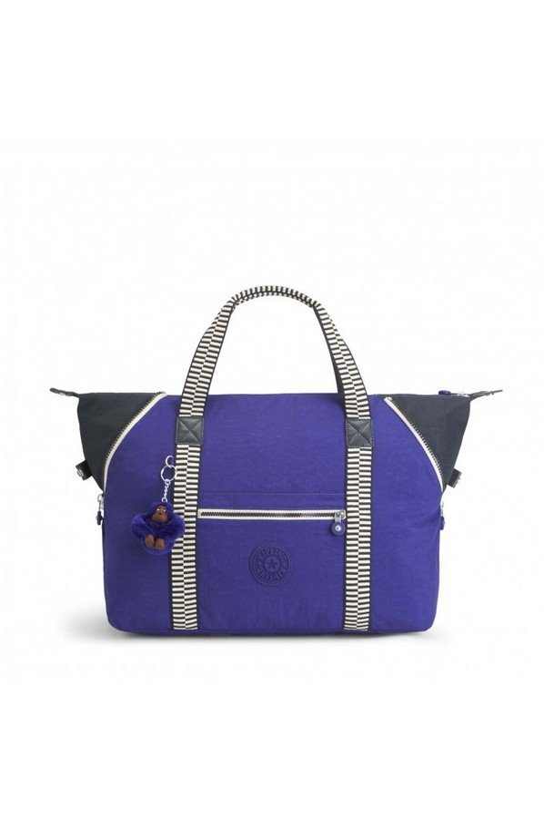 Kipling Art M Travel Tote With Trolley Sleeve