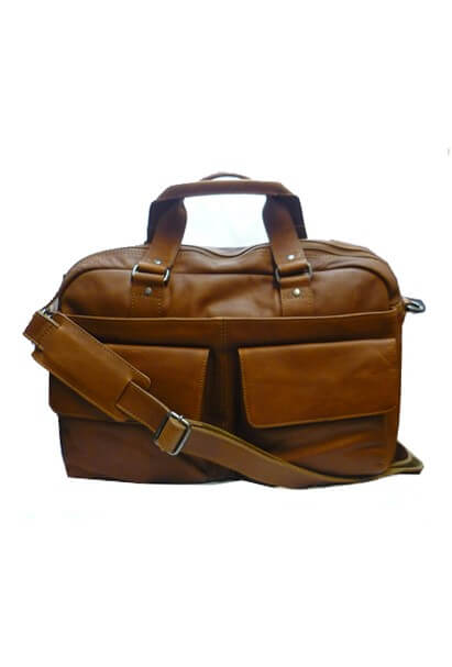 Italian Holdall Overnight Bag By Gianni Conti