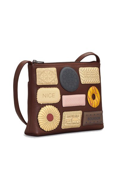 026465cbc7 Yoshi Teatime Favourites Brown Leather Cross Body Bag • Bagcraft UK